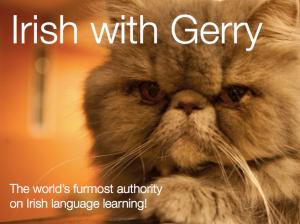 Leabhar nua - a new Irish book from Gerry coming soon!